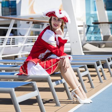 Foto: TUI Cruises Jeckliner - Funkemariechen