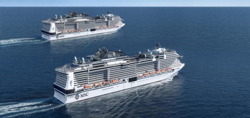 Foto: MSC Cruises  MSC Meraviglia and MSC Bellissima