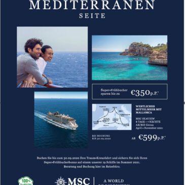MSC Cruises Angebot der Woche