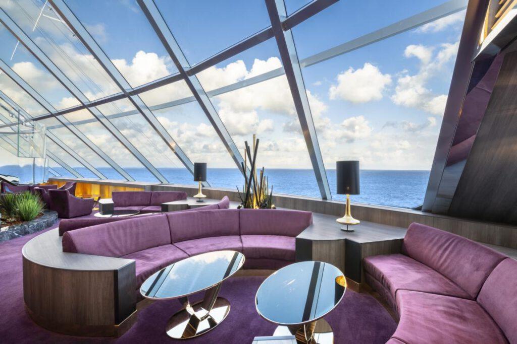 MSC Bellissima, MSC Yacht Club - Top Sail Lounge