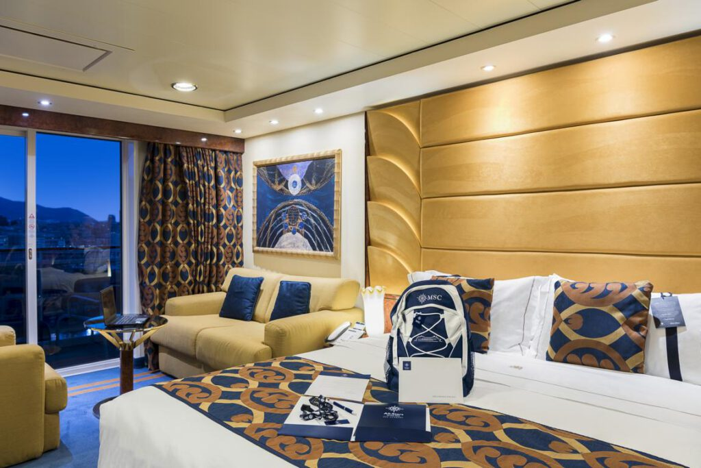MSC Fantasia, MSC Yacht Club Deluxe Suite