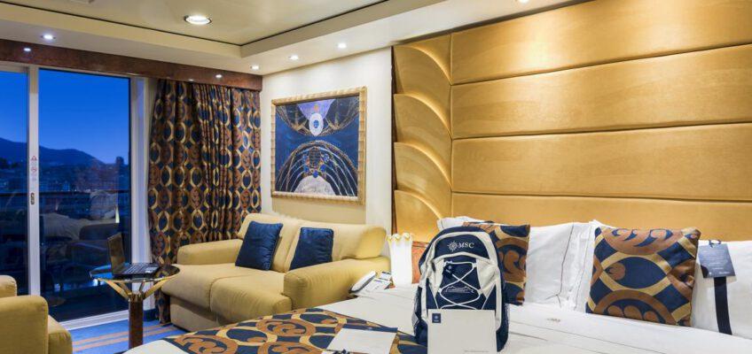 Foto: MSC Cruises  MSC Fantasia, MSC Yacht Club Deluxe Suite