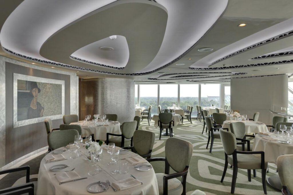 MSC Seaview, MSC Yacht Club Restaurant