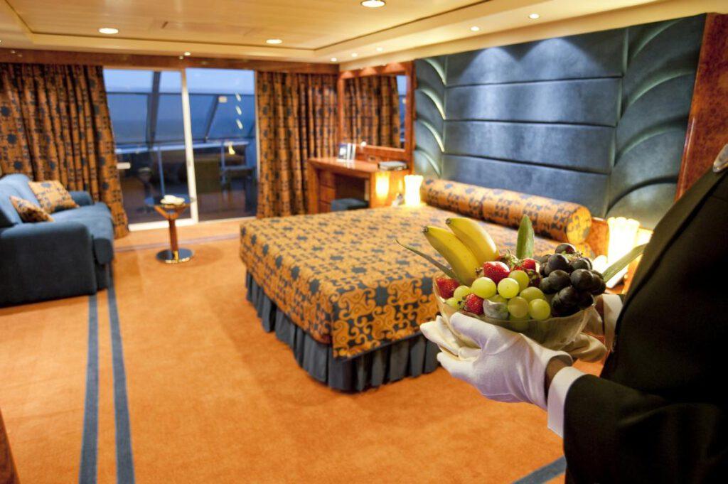 MSC Splendida; Ship; Suite; MSC Yacht Club; Executive Suite;