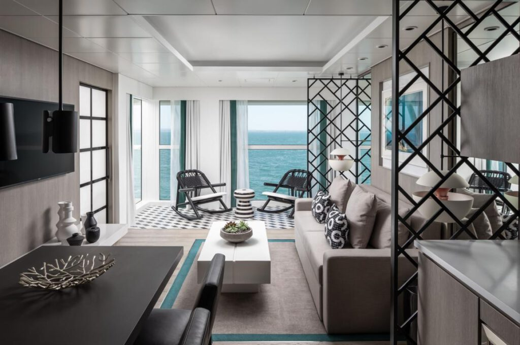 Celebrity Cruises Edge Royal Suite