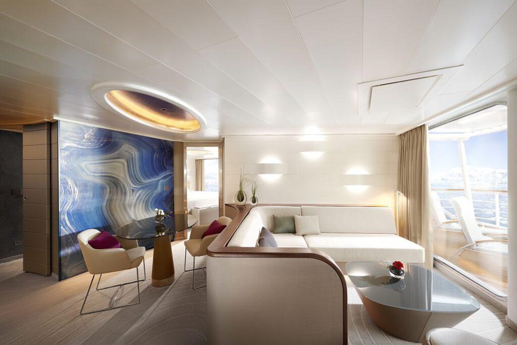 Hanseatic nature - Grand-Suite-Wohnbereich