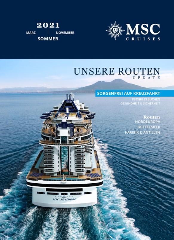 MSC Cruises Sommer 2021 Katalog