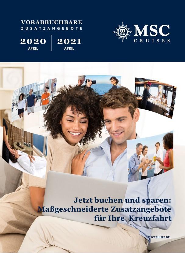 MSC Katalog Zusatzangebote