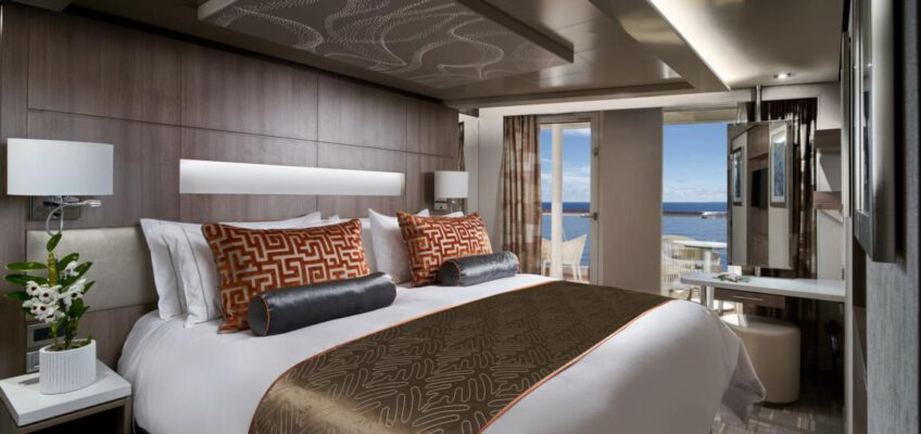 Norwegian Cruise Line The Haven-Encore Haven Courtyard Suite