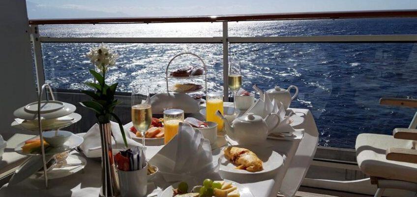 MS Europa 2 Frühstück